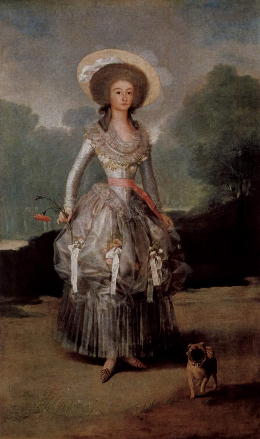Портрет маркизы де Понтехос-и-Сандоваль, герцогини Понтехос, Франсиско де Гойя-и-Лусьентес