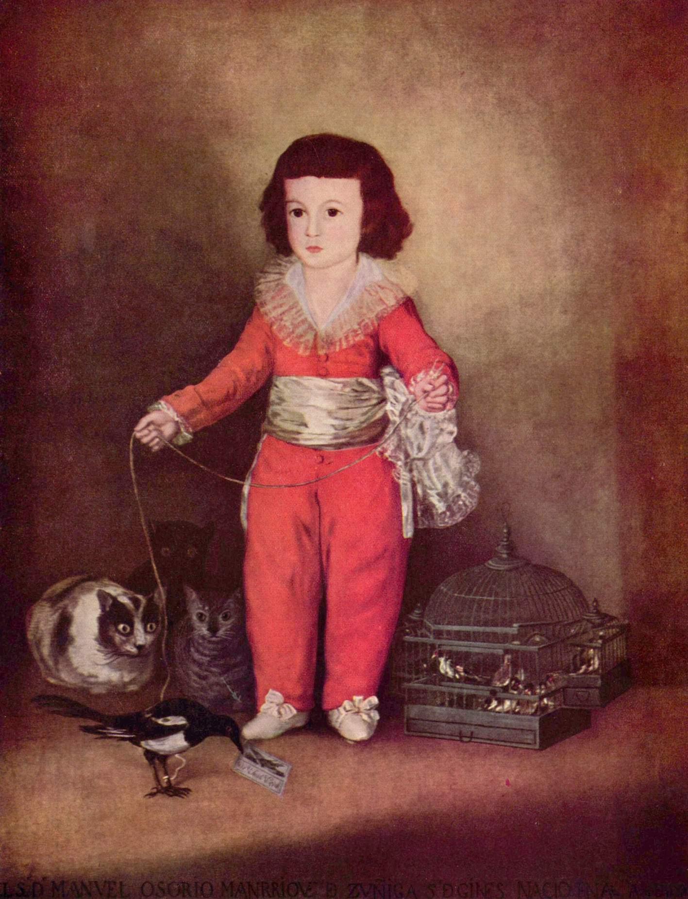 Портрет дона Мануэля, Франсиско де Гойя-и-Лусьентес