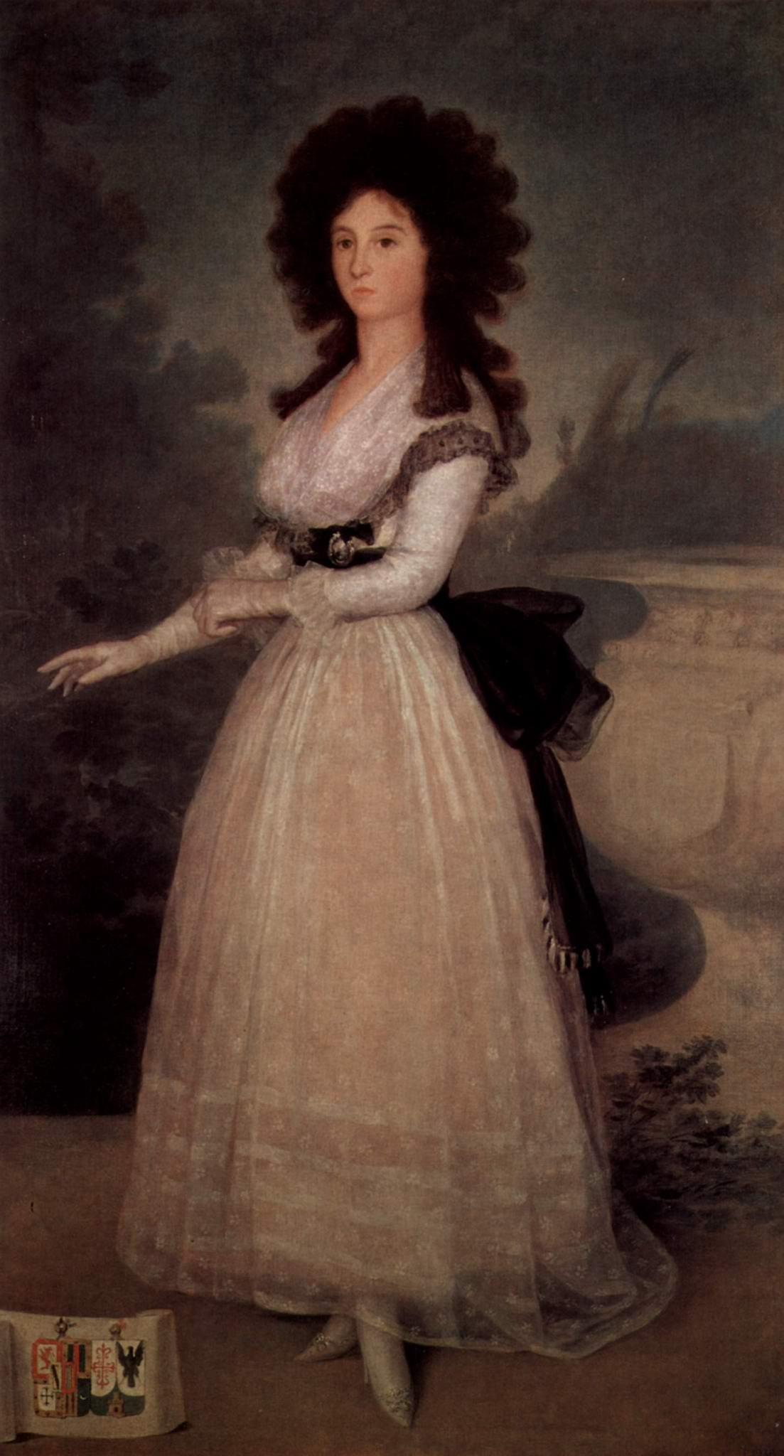 Портрет доньи Тадеа Ариас де Энрикес, Франсиско де Гойя-и-Лусьентес