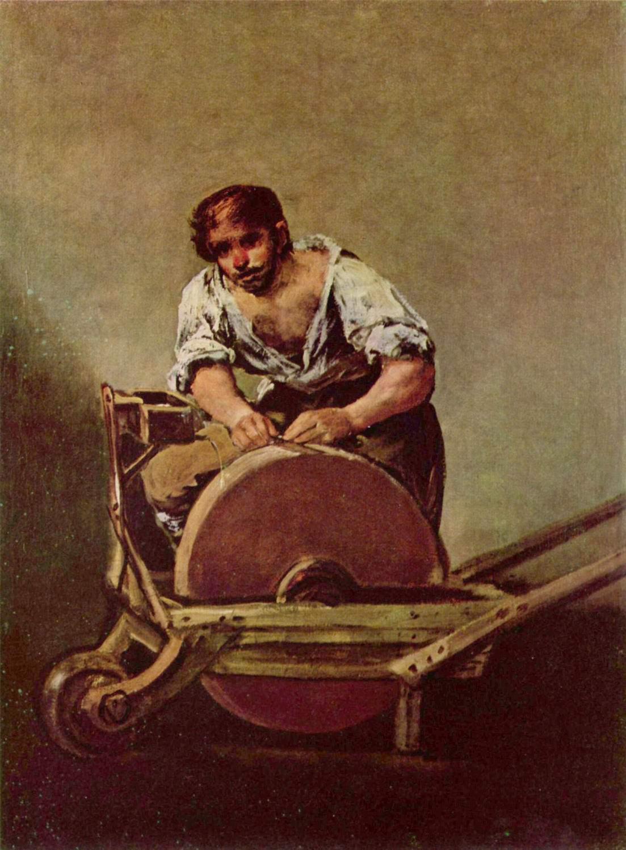 Точильщик (El Afilador), Франсиско де Гойя-и-Лусьентес