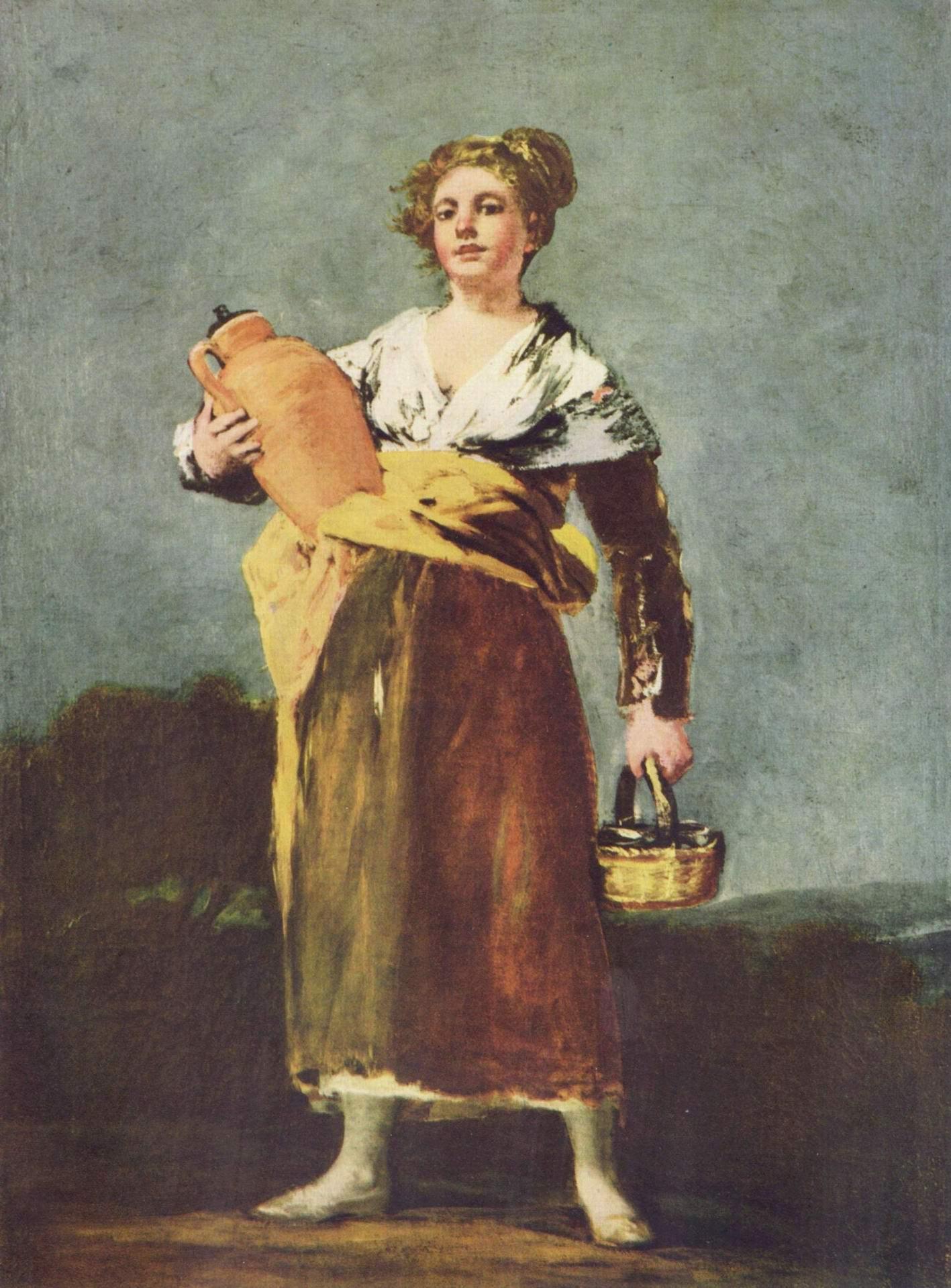 Разносчица воды, Франсиско де Гойя-и-Лусьентес