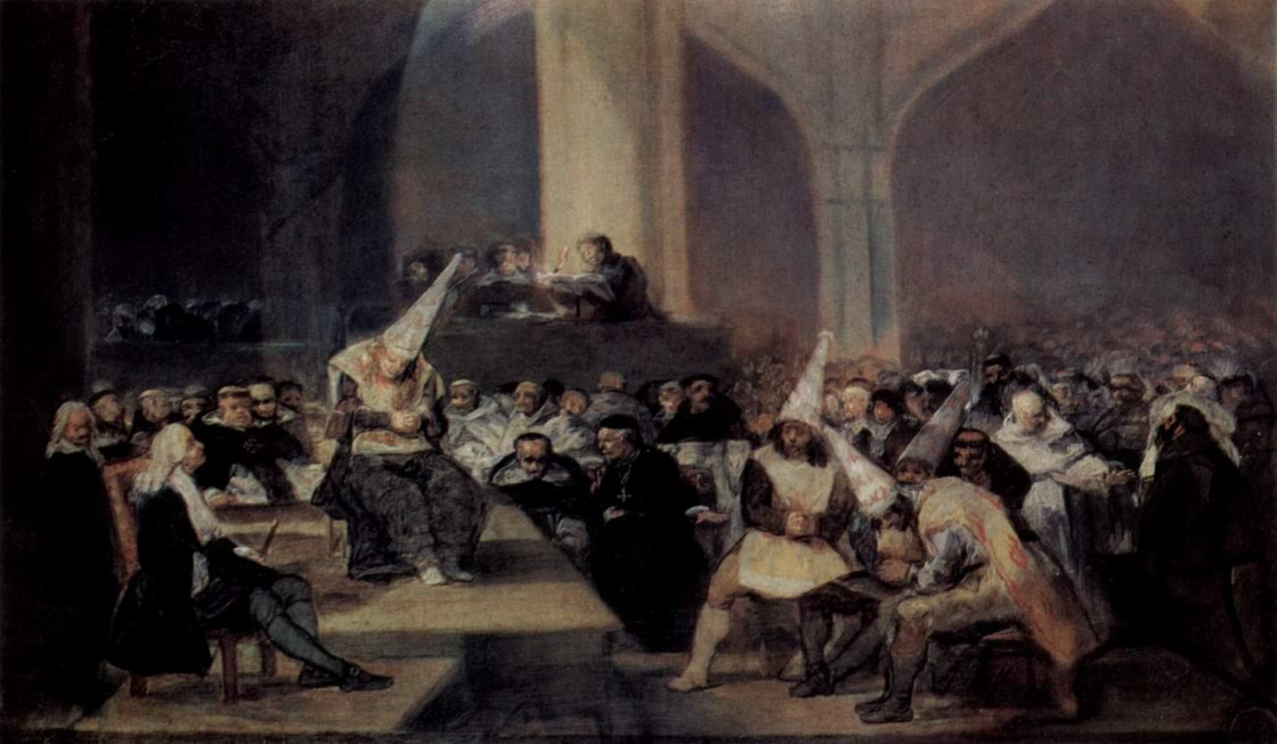 Трибунал инквизиции, Франсиско де Гойя-и-Лусьентес