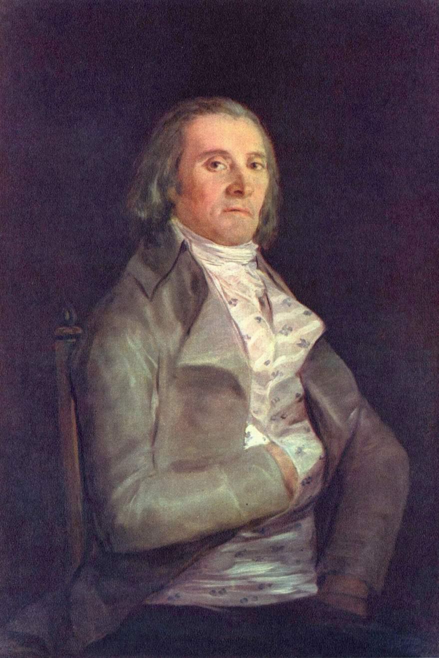 Портрет д-ра Пераля, Франсиско де Гойя-и-Лусьентес