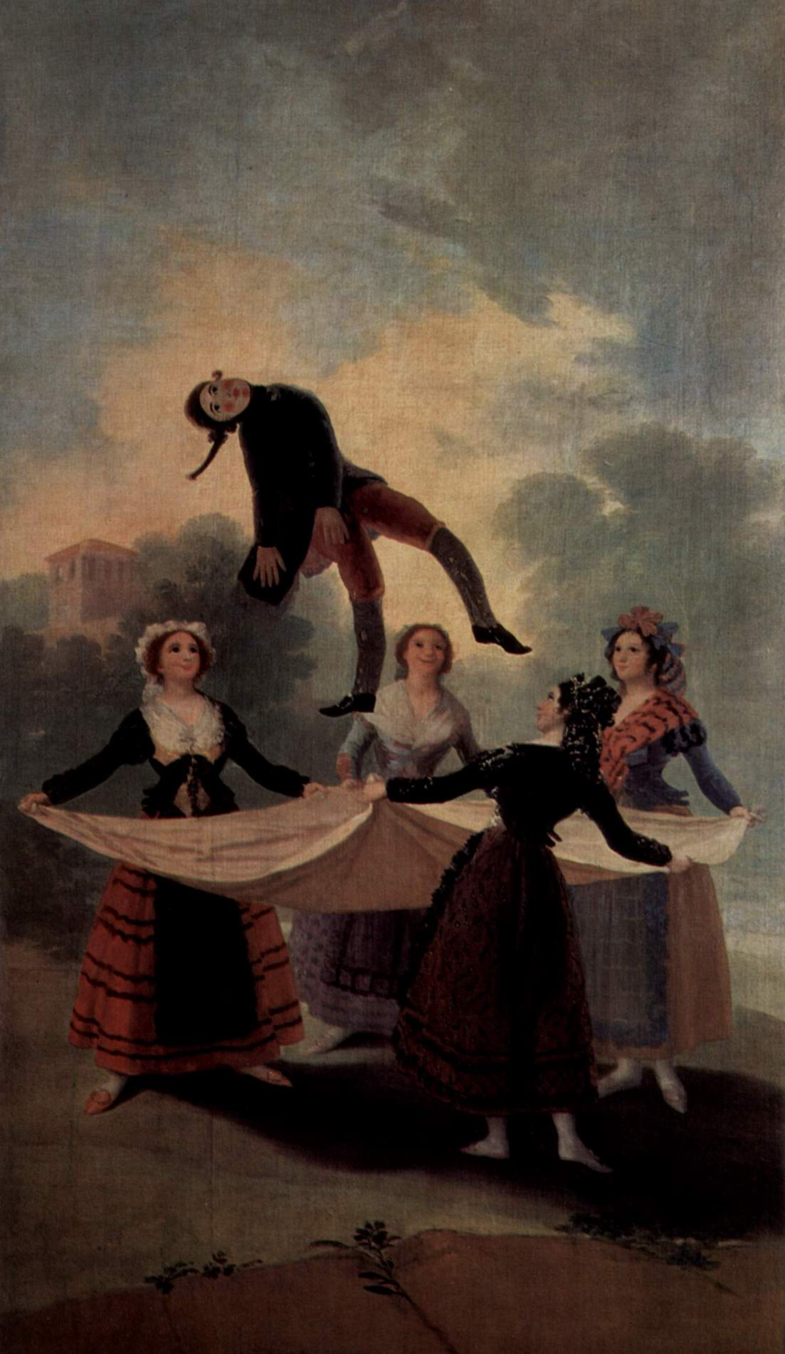 Эскизы гобеленов для королевских дворцов Прадо и Эскориал. Марионетка, Франсиско де Гойя-и-Лусьентес