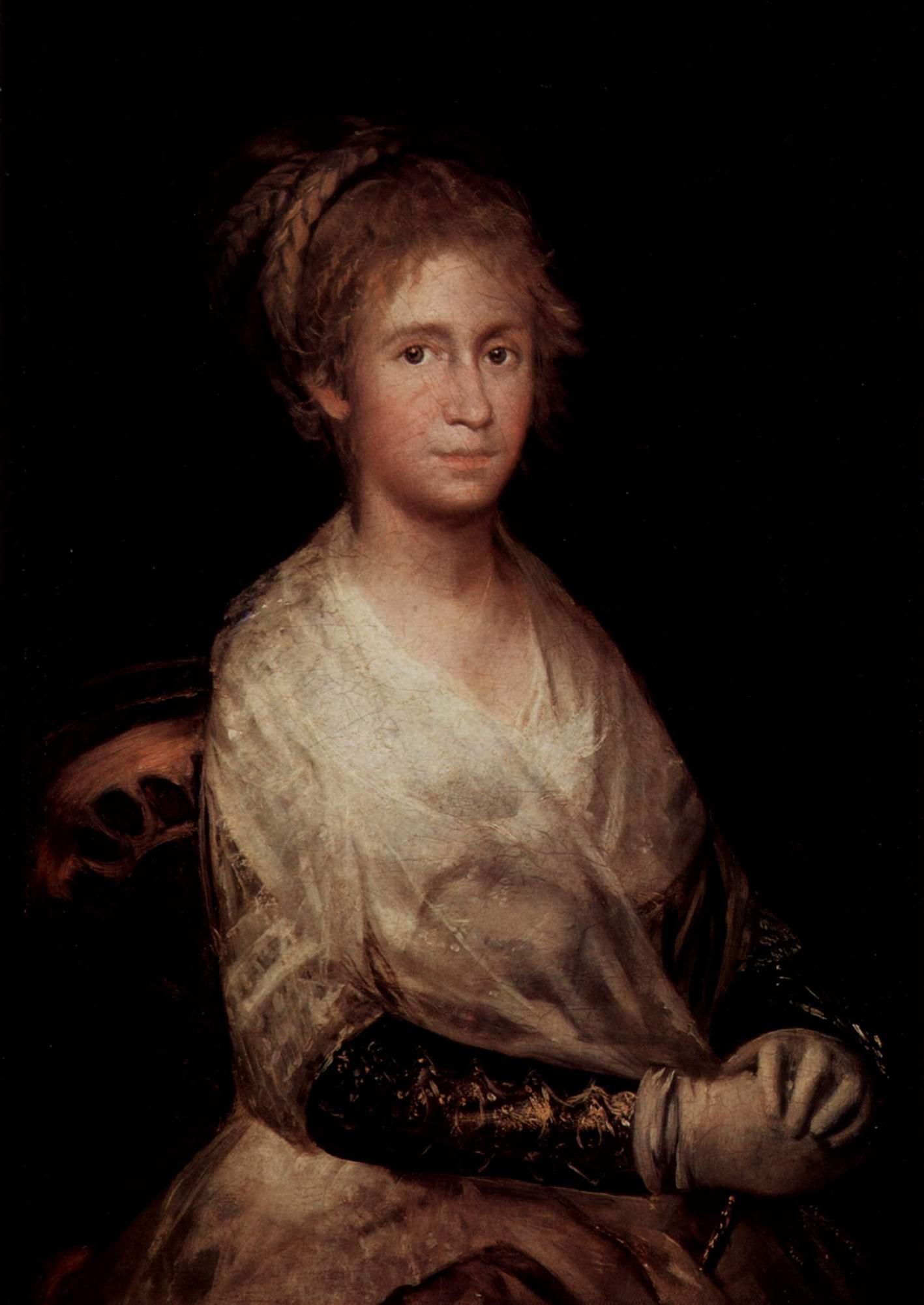 Портрет Хосефы Байю де Гойя, жены художника, Франсиско де Гойя-и-Лусьентес