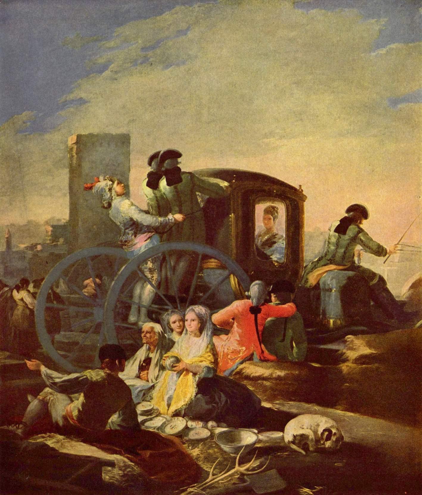 Продавщицы горшков, Франсиско де Гойя-и-Лусьентес
