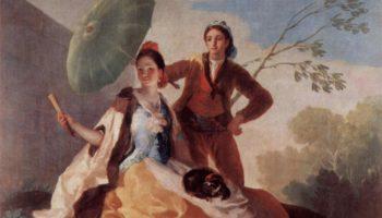 Эскизы гобеленов для королевских дворцов Прадо и Эскориал. Солнечный зонтик