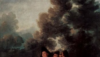 Эскизы гобеленов для королевских дворцов Прадо и Эскориал. Полдник на лоне природы