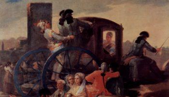 Эскизы гобеленов для королевских дворцов Прадо и Эскориал. Продавец посуды