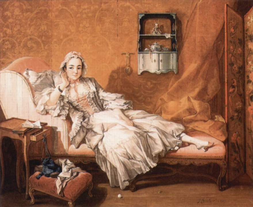Портрет Мари-Жанне Бюзо, жены художника, Франсуа Буше