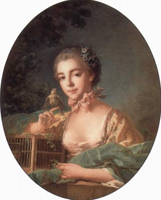 Портрет дочери художника, Франсуа Буше
