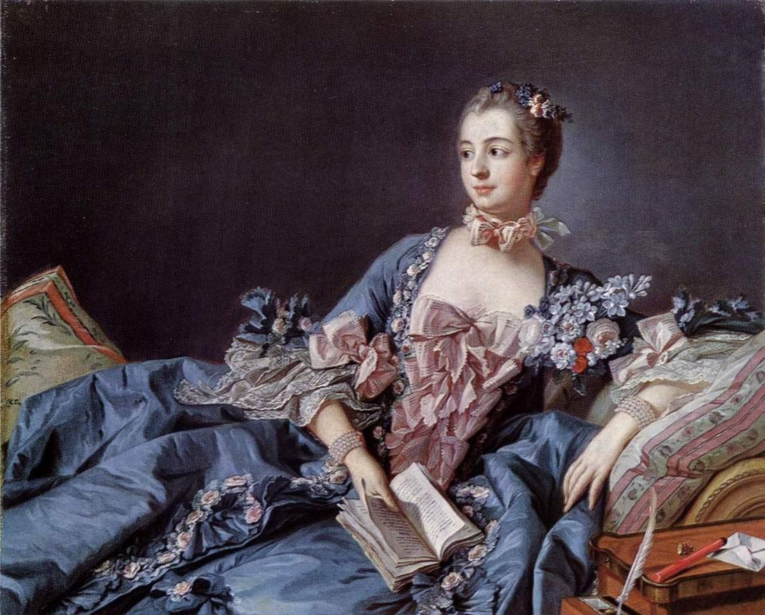 Портрет мадам Помпадур, Франсуа Буше