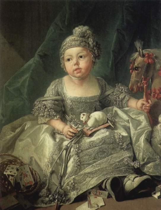 Портрет Луи Филиппа Жозефа, герцога Монпасье, ребёнком, Франсуа Буше