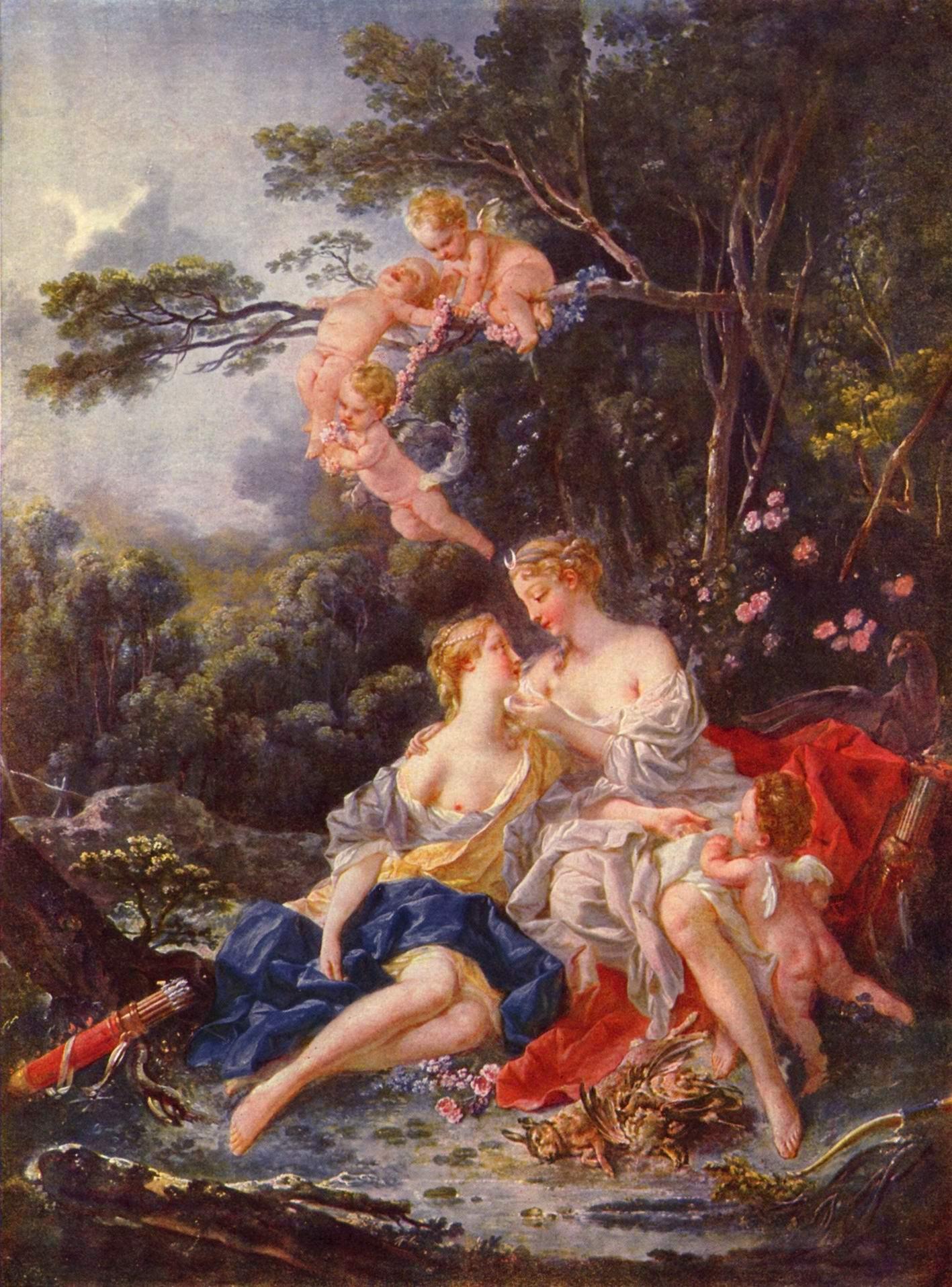 Юпитер и Каллисто, Франсуа Буше