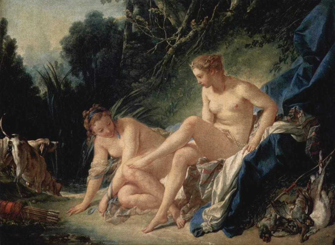Купание Дианы, Франсуа Буше