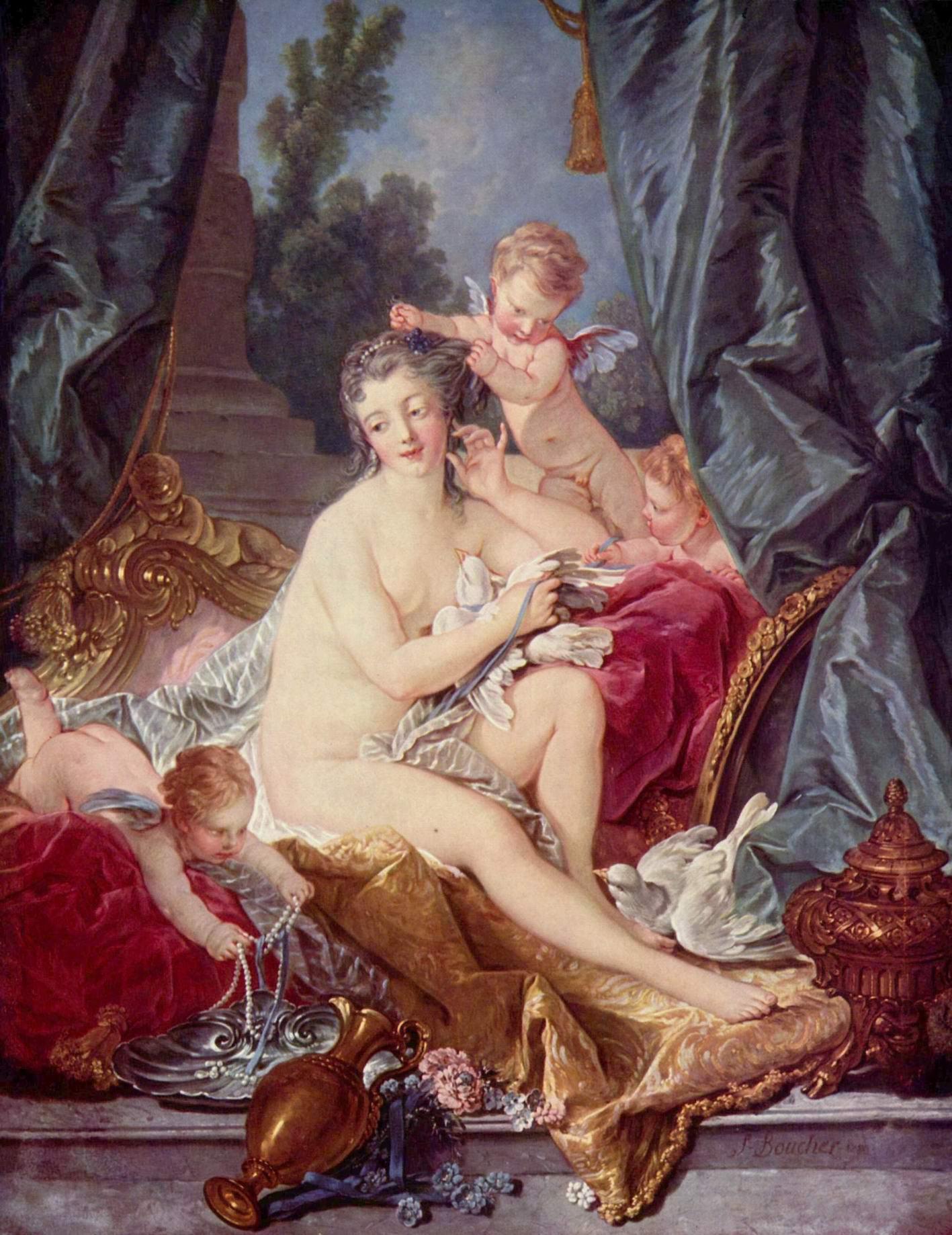 Туалет Венеры, Франсуа Буше