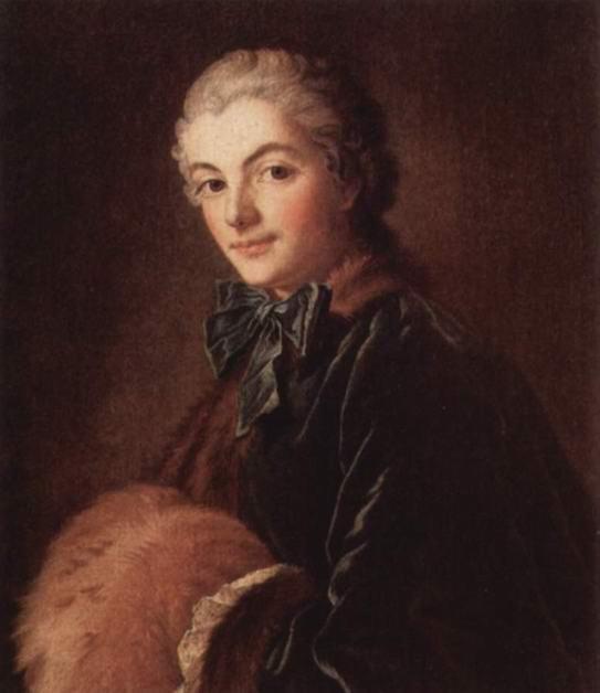Портрет дамы с муфтой, Франсуа Буше