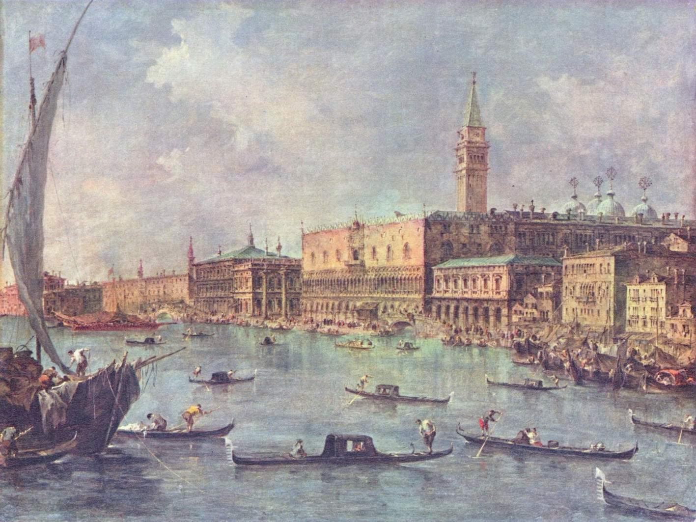 Дворец Дожей в Венеции, Франческо Гварди