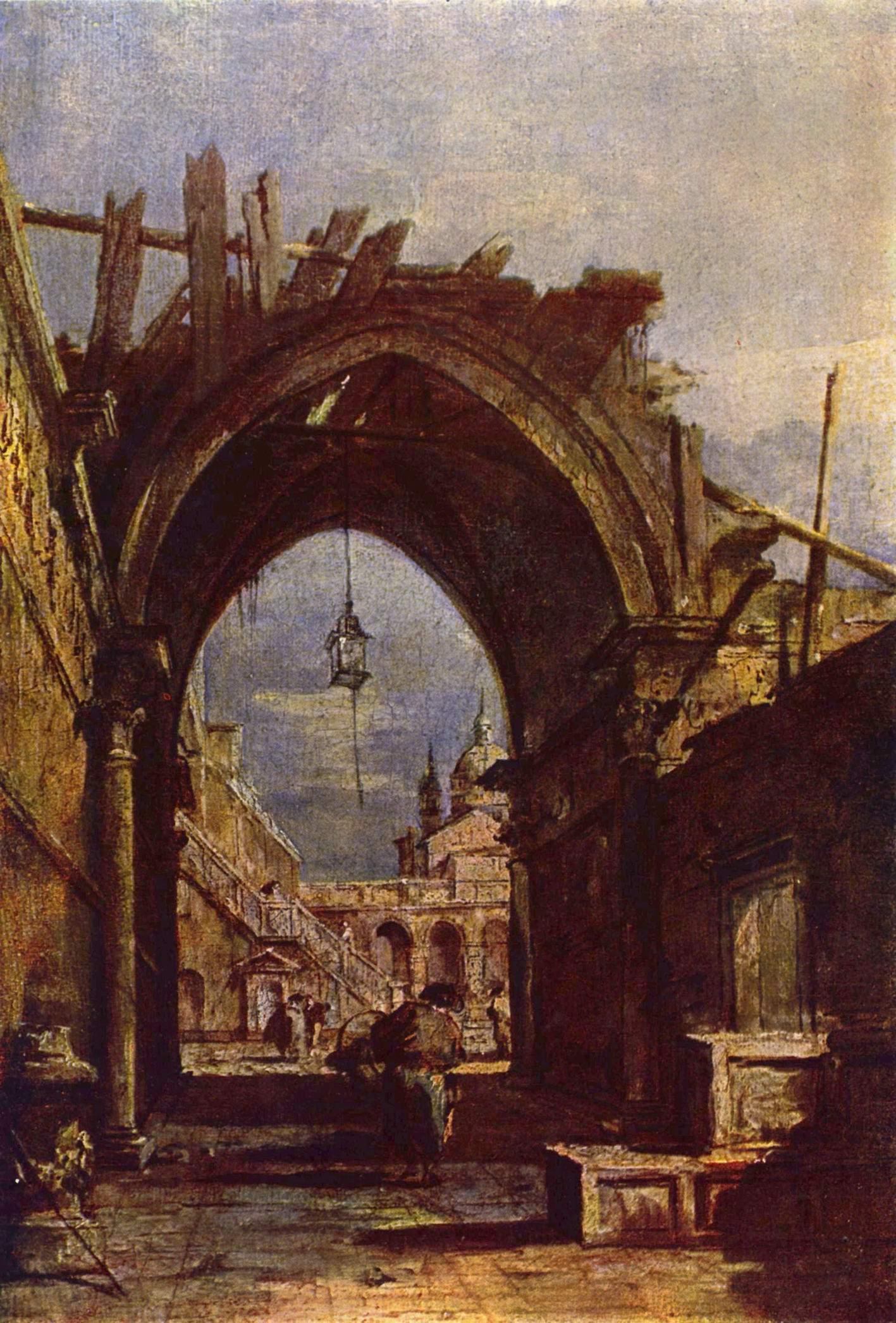 Венецианский вид, Франческо Гварди