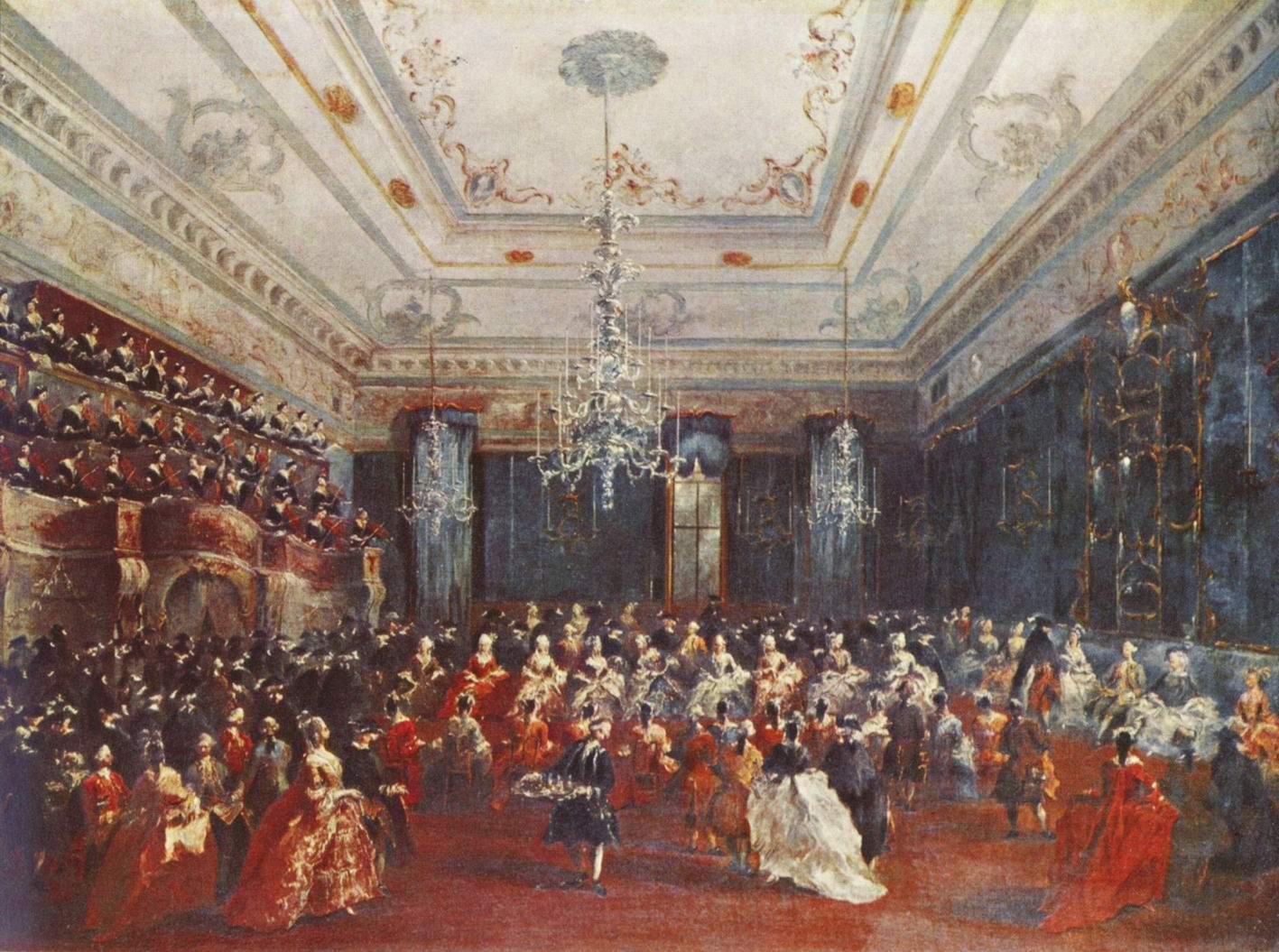 Парадный концерт в Венеции, Франческо Гварди