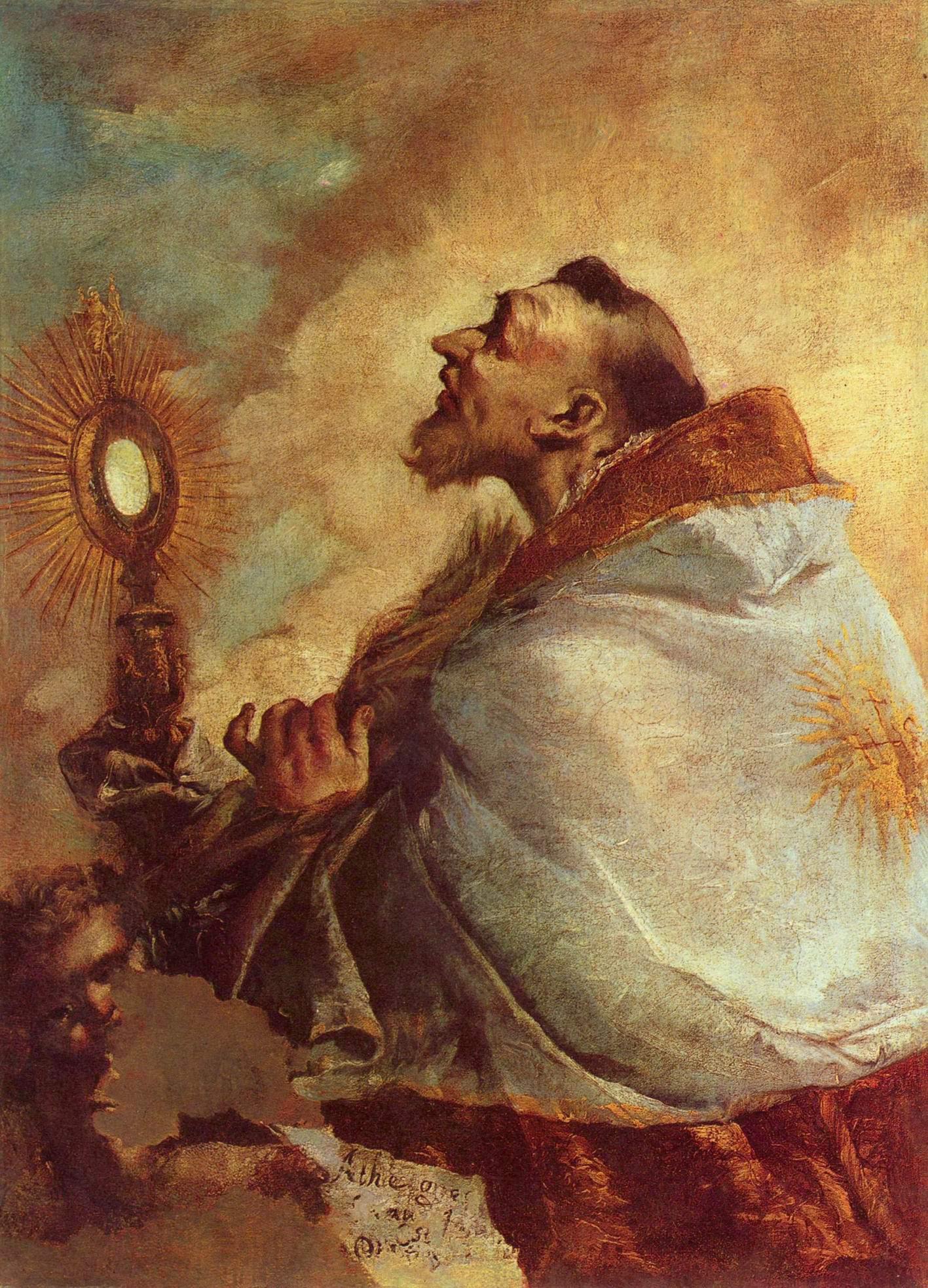 Экстаз святого, Франческо Гварди