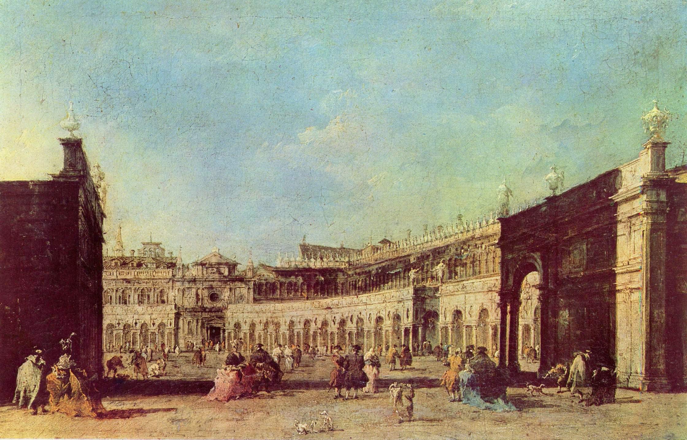 Площадь св. Марка, Франческо Гварди