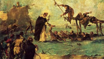 Чудесное спасение святым-доминиканцем