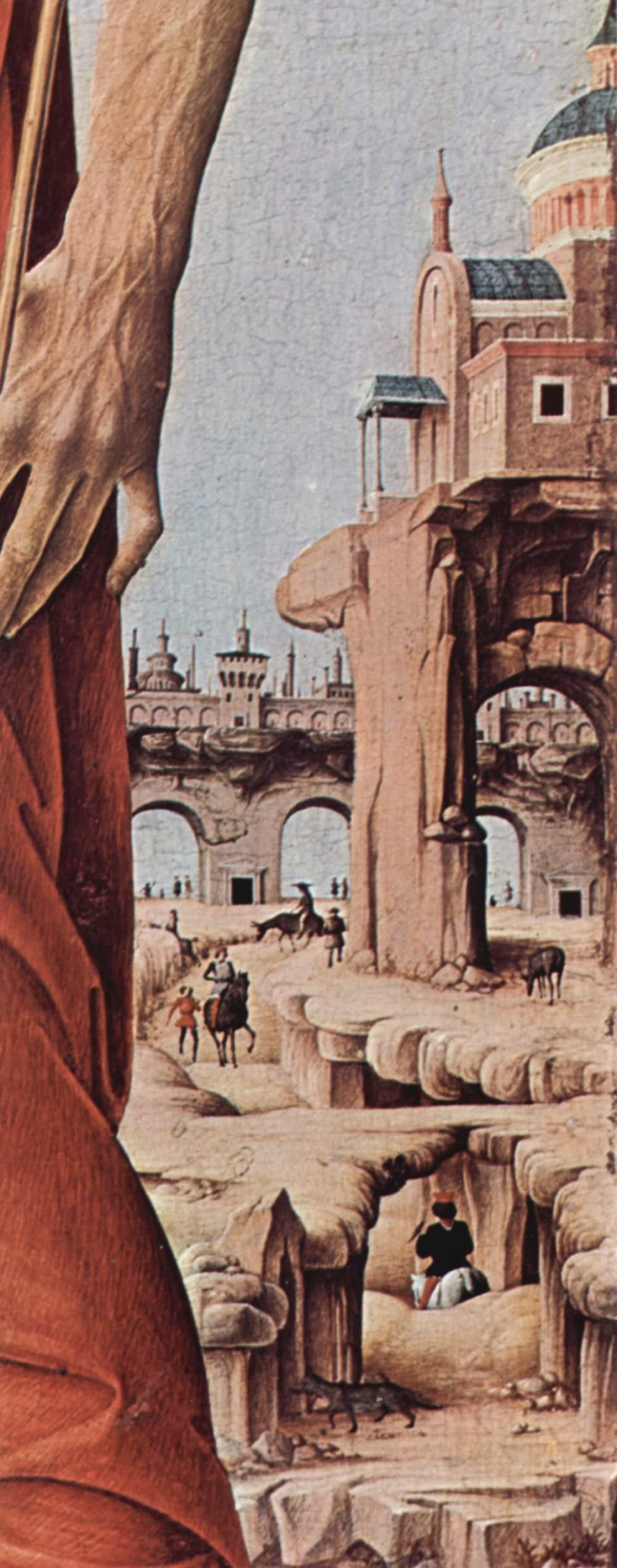 Алтарь Гриффони, первоначально Капелла Гриффони в церкви Сан Петронио в Болонье, правая створка, Франческо дель Косса