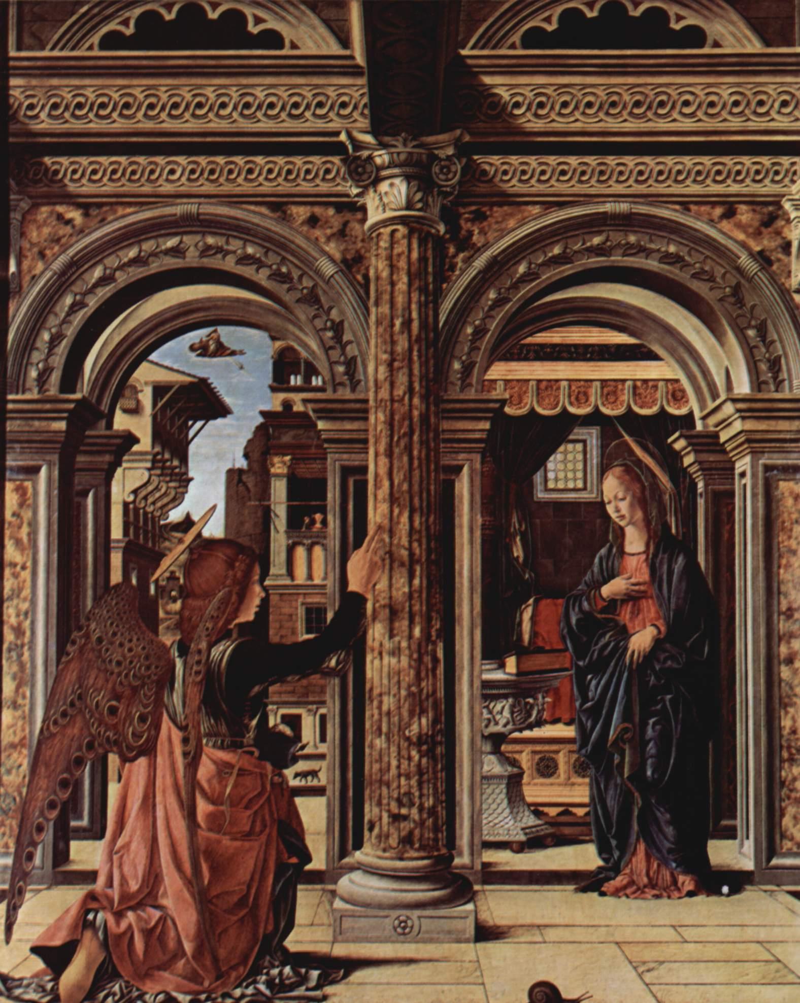 Алтарь Благовещения, Франческо дель Косса