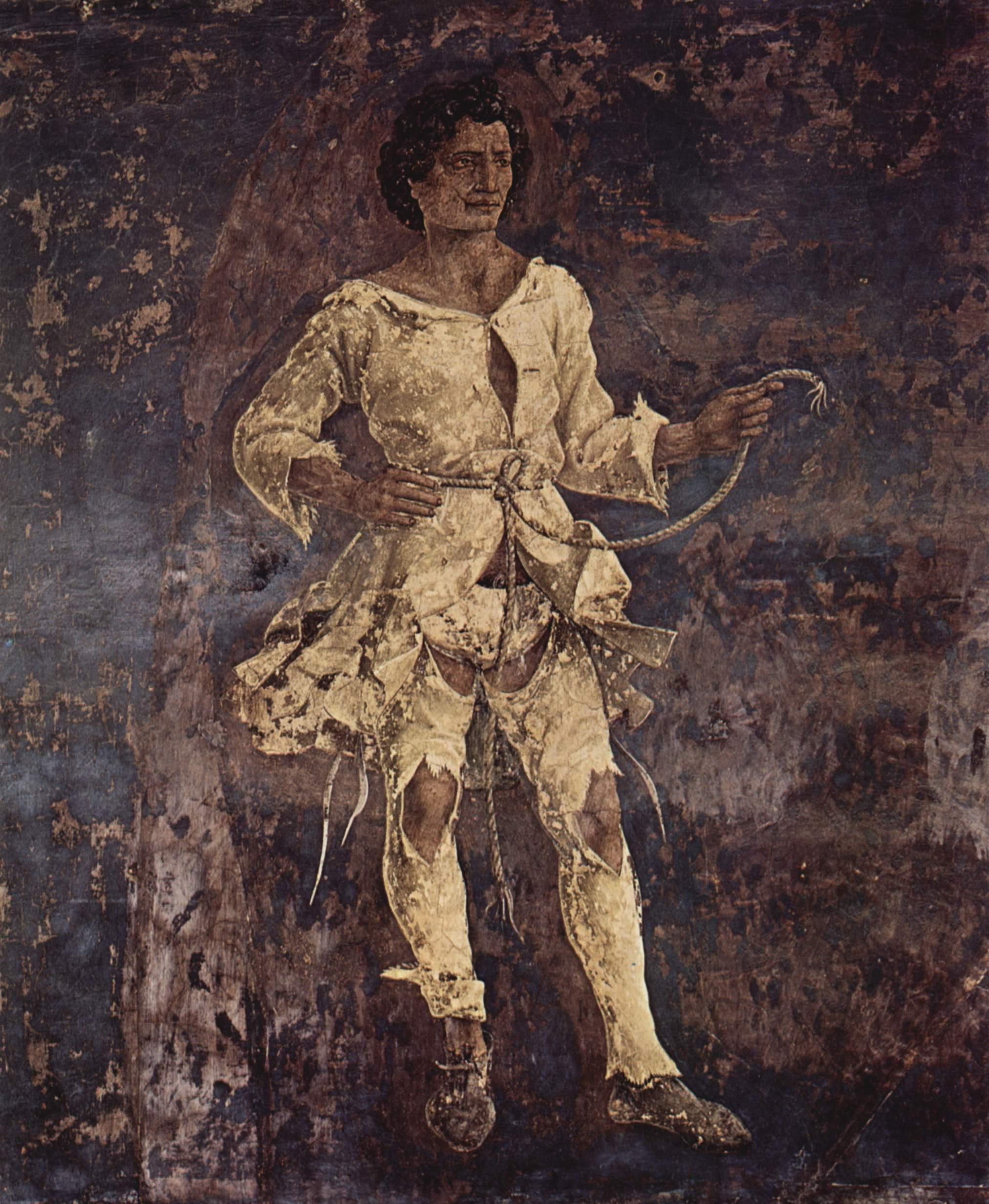 Фрески с изображением месяцев марта, апреля и мая во дворце Скифаноя, март - триумфальное шествие, Франческо дель Косса