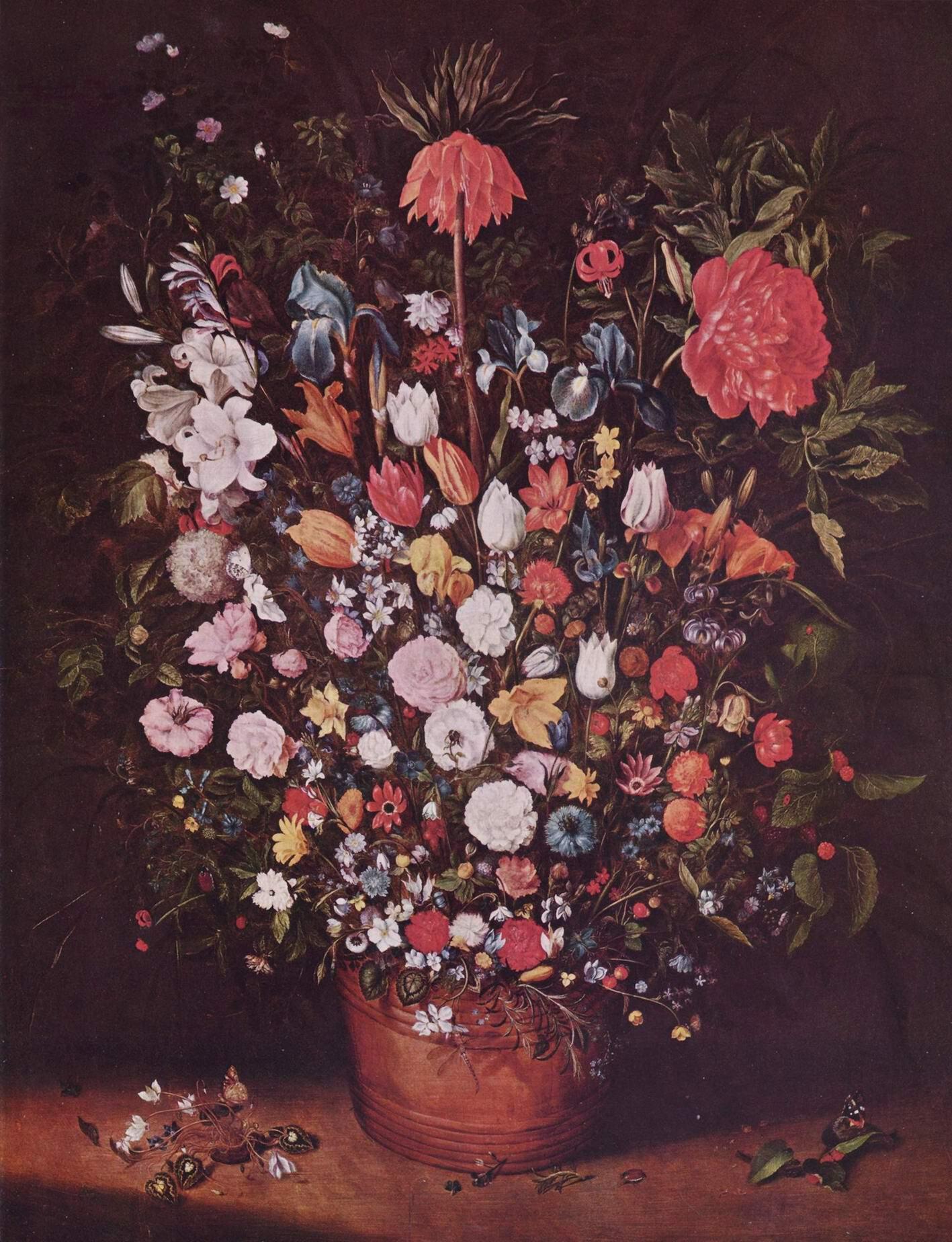 Букет цветов, Ян (Бархатный) Брейгель Старший