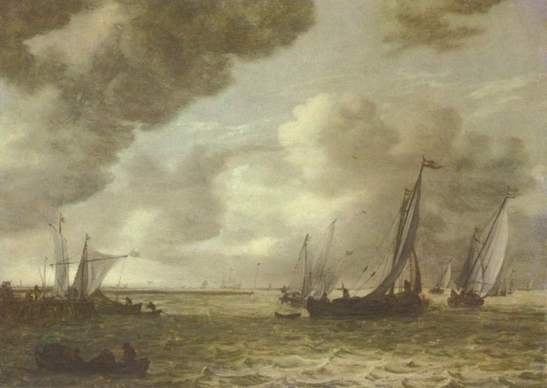 Речной пейзаж, Ян ван Гойен