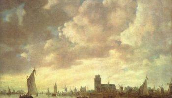 Вид на Мерведе под Дордрехтом