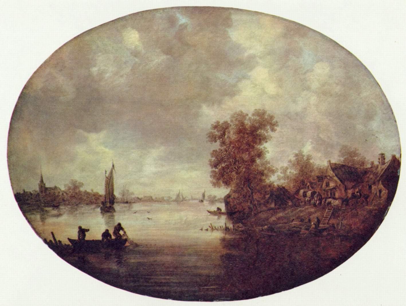 Лето на реке, Ян ван Гойен