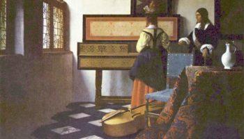 Урок музыки, или Кавалер и дама у спинета