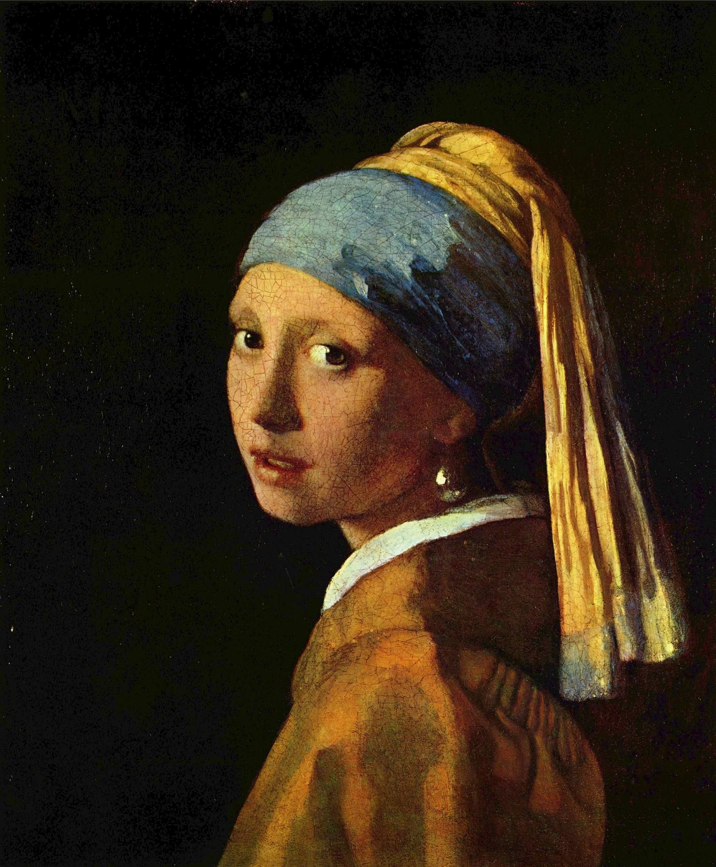 Девушка с жемчужными серьгами, Ян Вермеер Делфтский