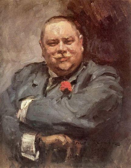 Портрет Николая Дмитриевича Чичагова, Коровин Константин Алексеевич