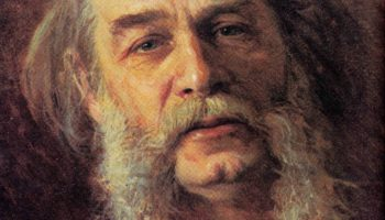 Портрет писателя Дмитрия Васильевича Григоровича. Фрагмент
