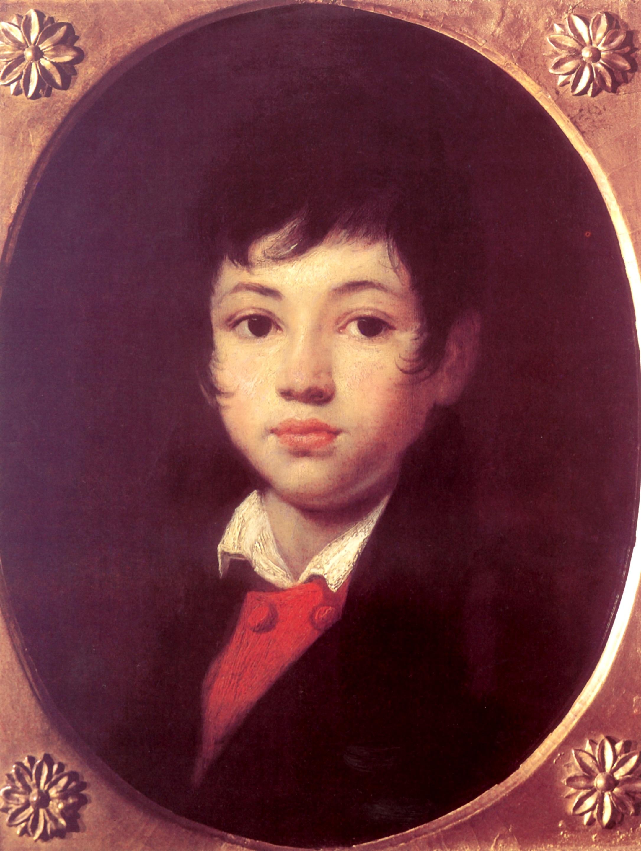 Портрет Александра Александровича Челищева, Кипренский Орест Адамович
