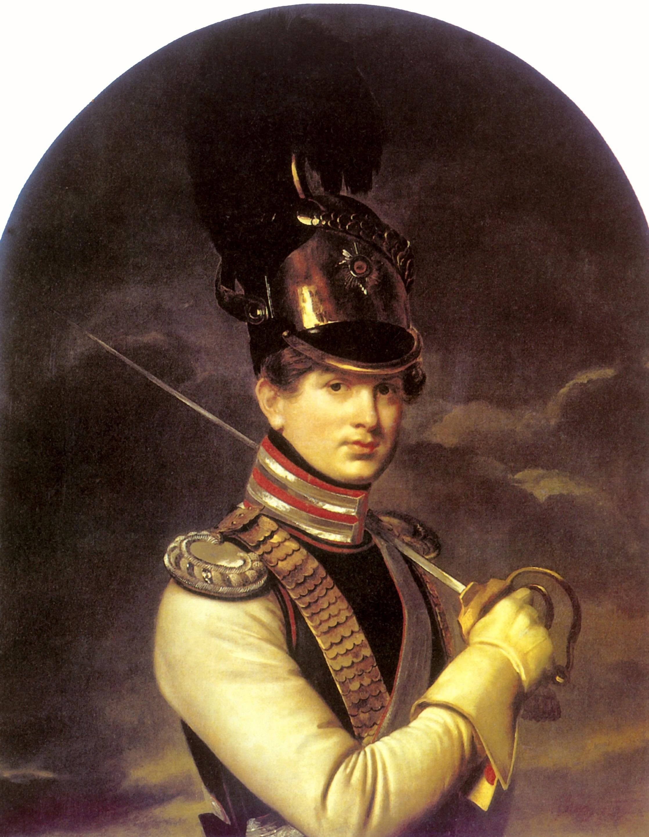 Портрет князя Никиты Петровича Трубецкого, Кипренский Орест Адамович