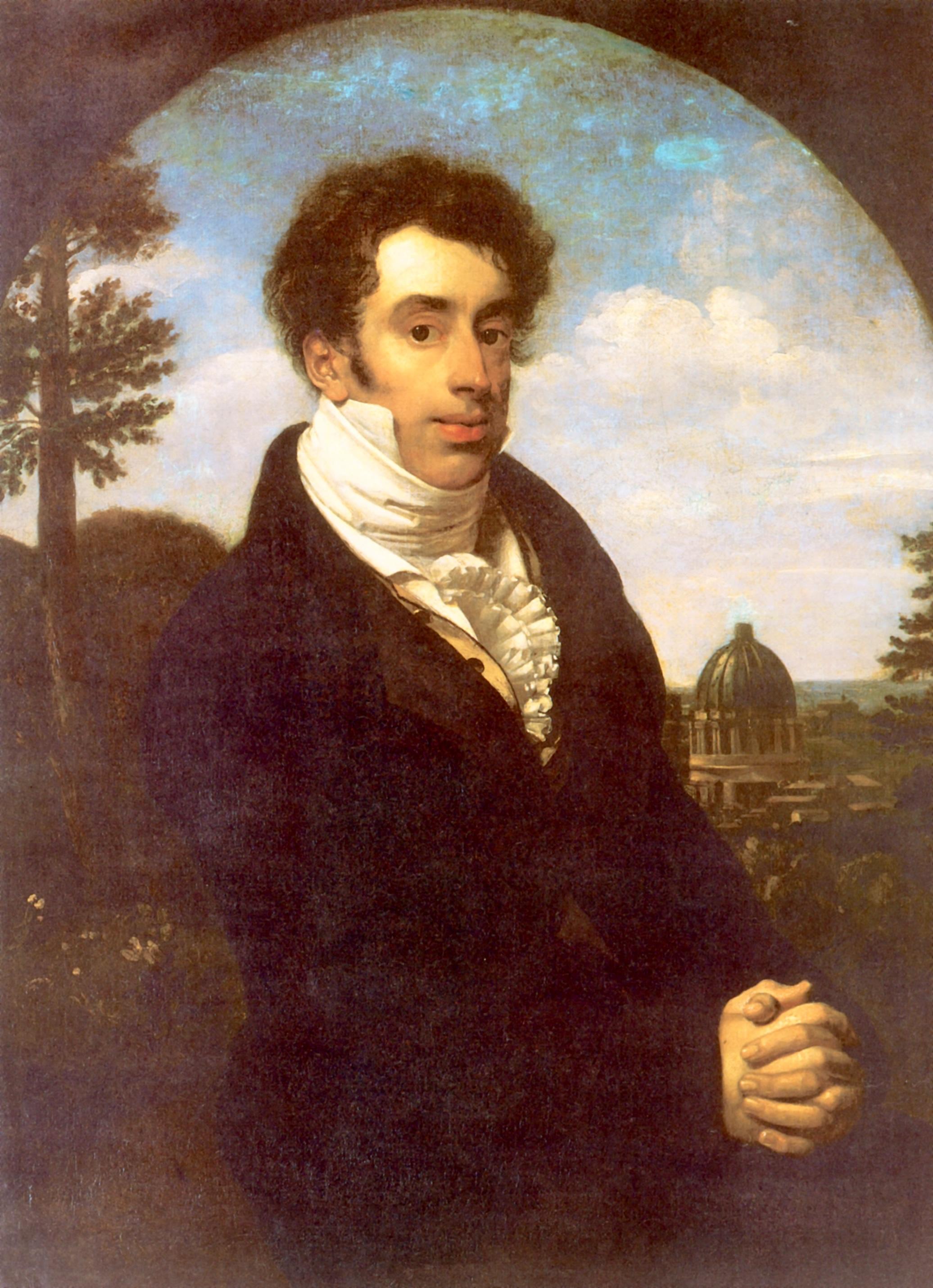 Портрет князя Александра Михайловича Голицына, Кипренский Орест Адамович