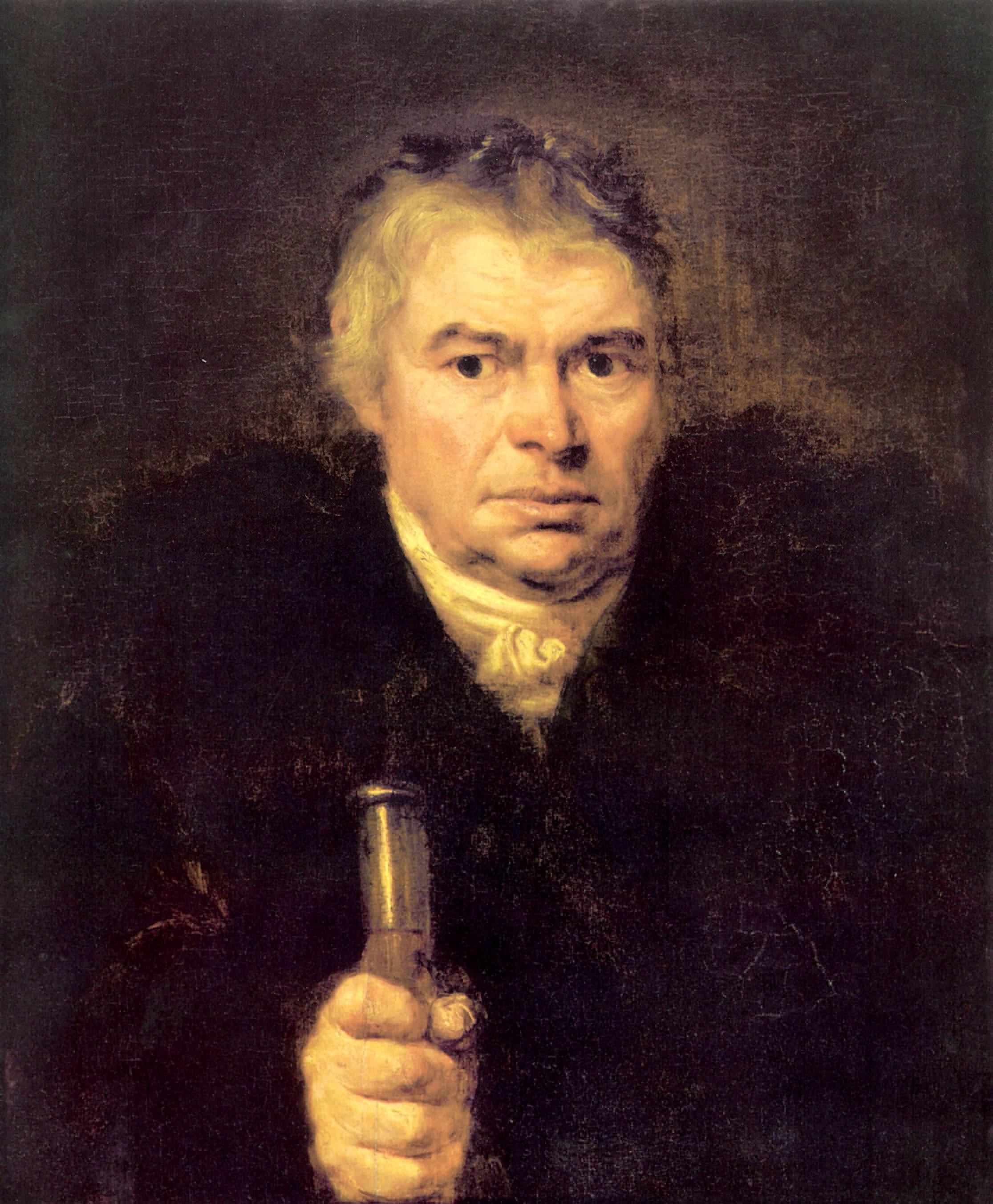 Портрет отца художника Адама Карловича Швальбе, Кипренский Орест Адамович