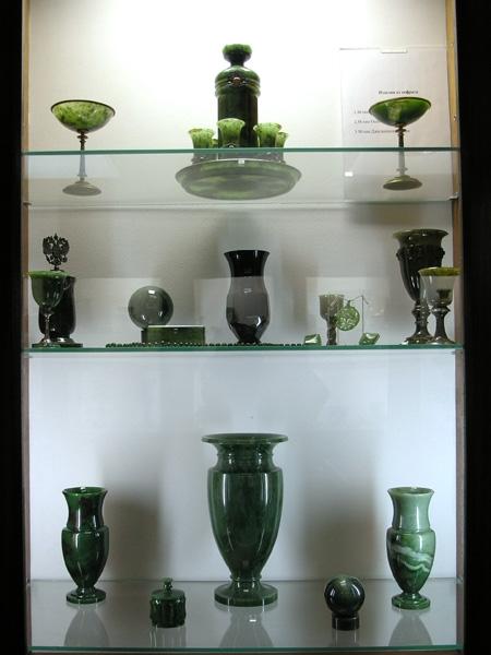 Экспозиция декоративных облицовочных камней