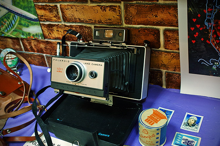 Фотоаппарат 60-х годов
