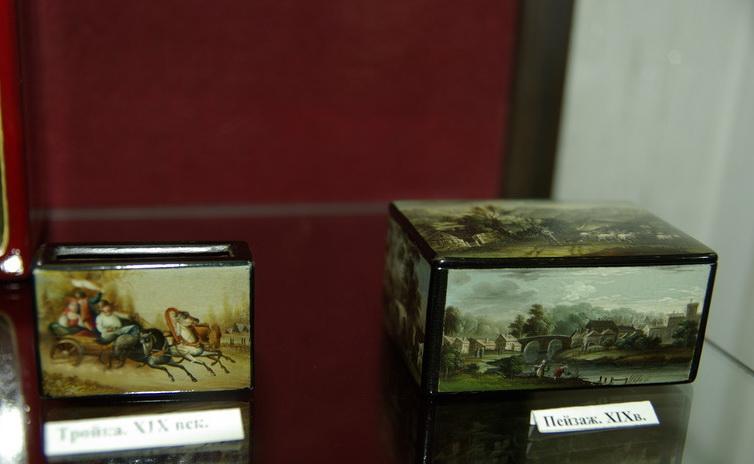 Экспонат музея Палехского искусства