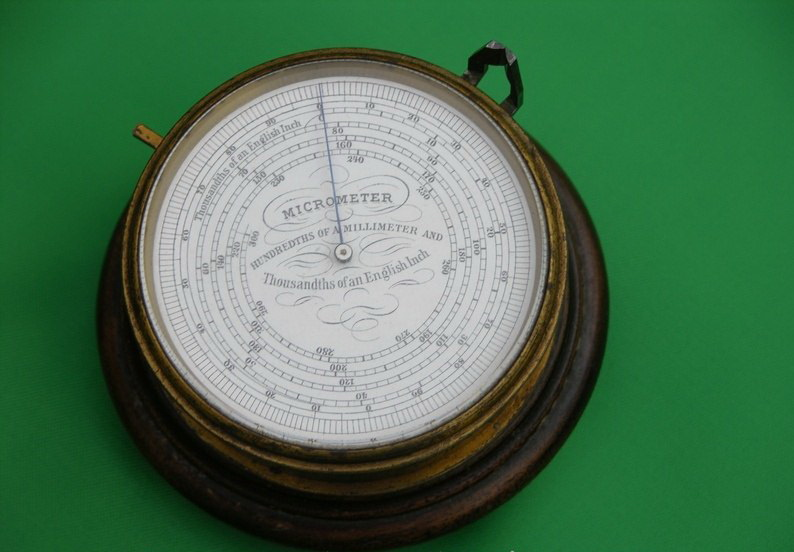 Микрометр XIX века