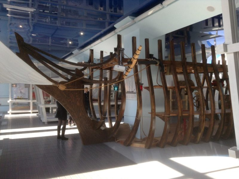 Экспозиция Северного морского музея