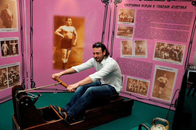 Выставка «Дореволюционный спорт в России»